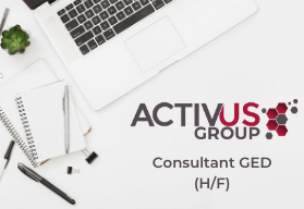 offre emploi activus consultant GED